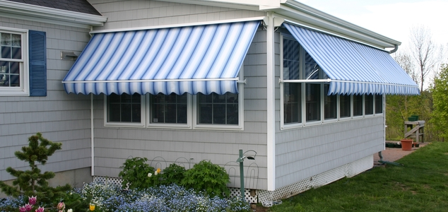 Retractable Window Awnings Rubusta - NuImage Awnings