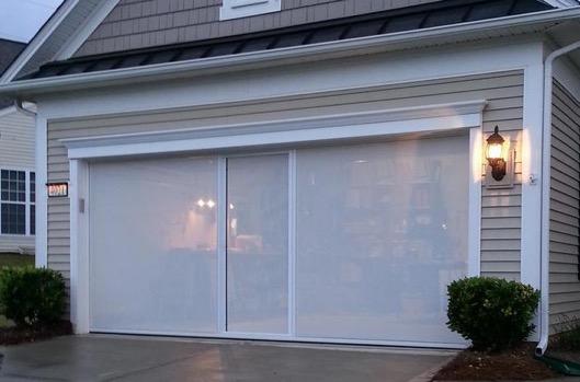 Garage Amp Warehouse Door Screens Mid Land Enterprises