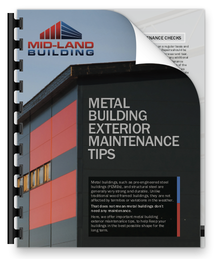 Metal Building Exterior Maintenance Tips
